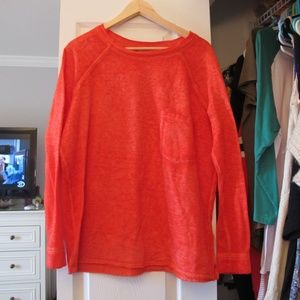 Nordstrom Coral Pullover Sweatshirt